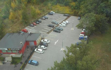 Pronájem venkovních parkovacích míst